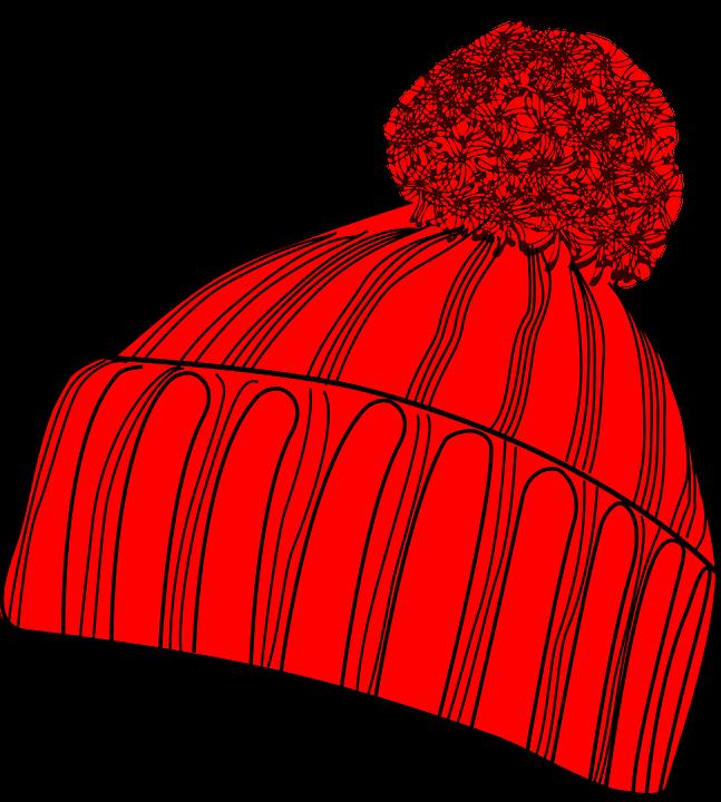 Glove clipart woolen cap. Winter hat cloth clothing