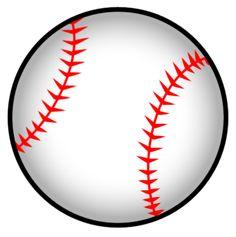 Clipart baseball. Clip art vector online
