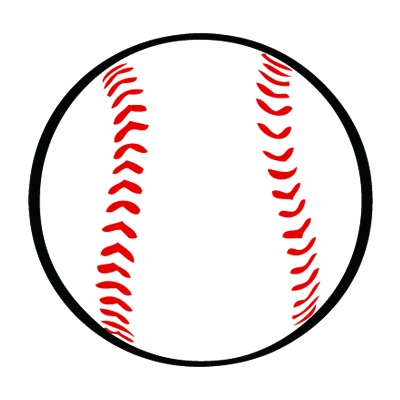 Clipart baseball. Free real and vector