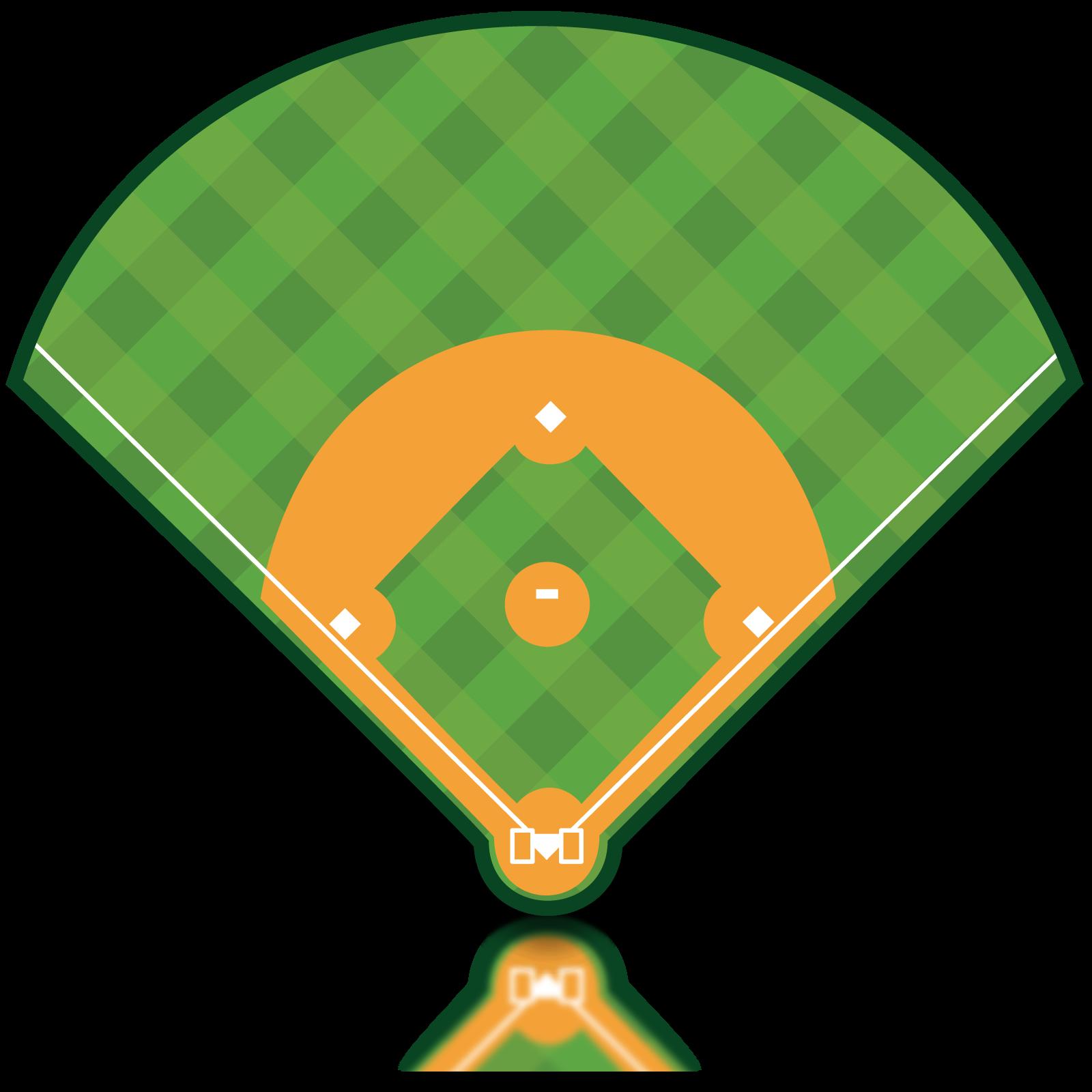 Clipart diamond baseball field. Volunteer opportunities