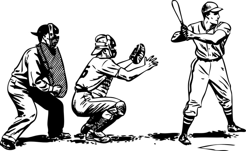 Public domain clip art. Softball clipart cartoon