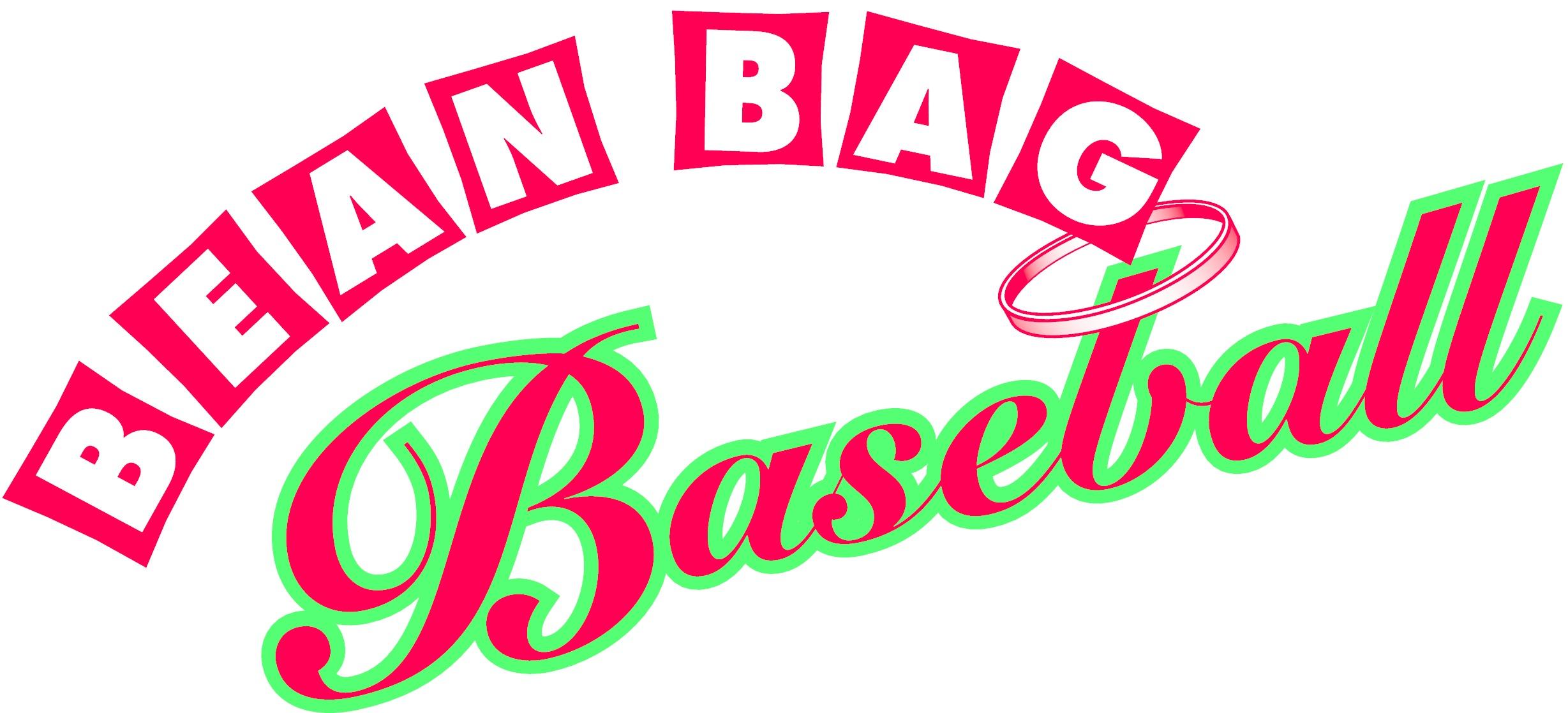 Original baget game . Clipart baseball bean bag