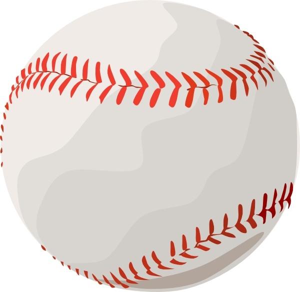 Clipart baseball bean bag. Clip art free vector