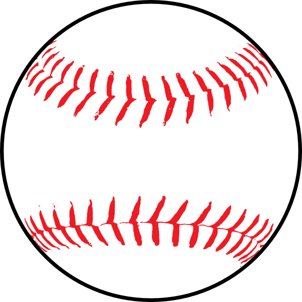 softball clipart design