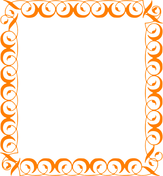 collection of free. Pumpkin border png