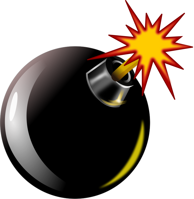Clipart gun bomb. Baseball pencil and in