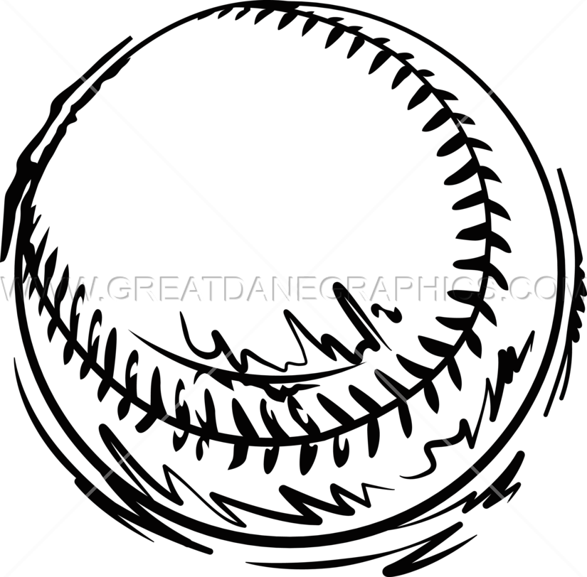 Confused clipart sketch. Baseball drawing at getdrawings