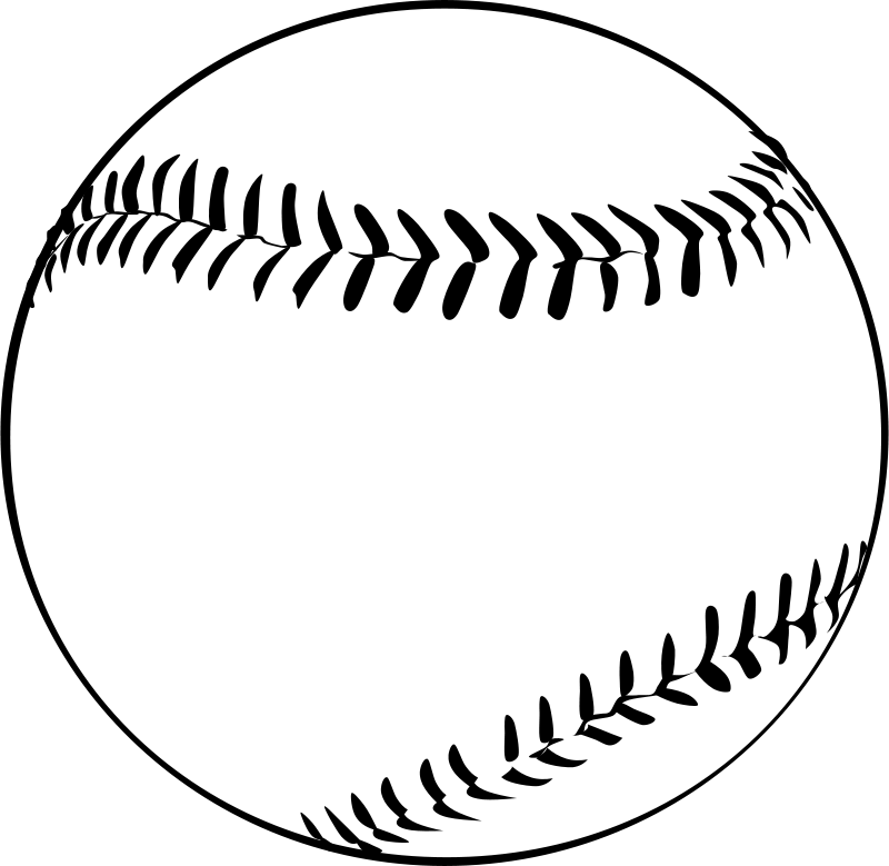 Game clipart baseball. By gerald g ball
