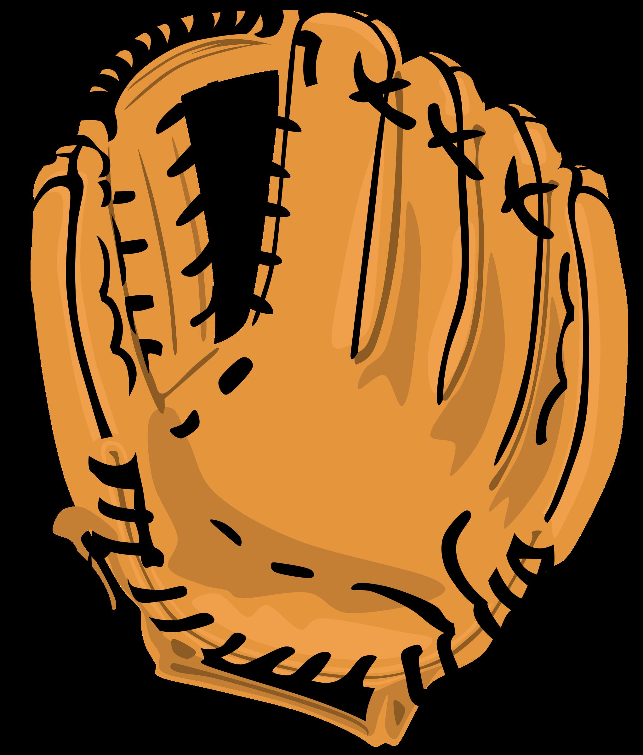 Gloves clipart transparent background. Baseball glove