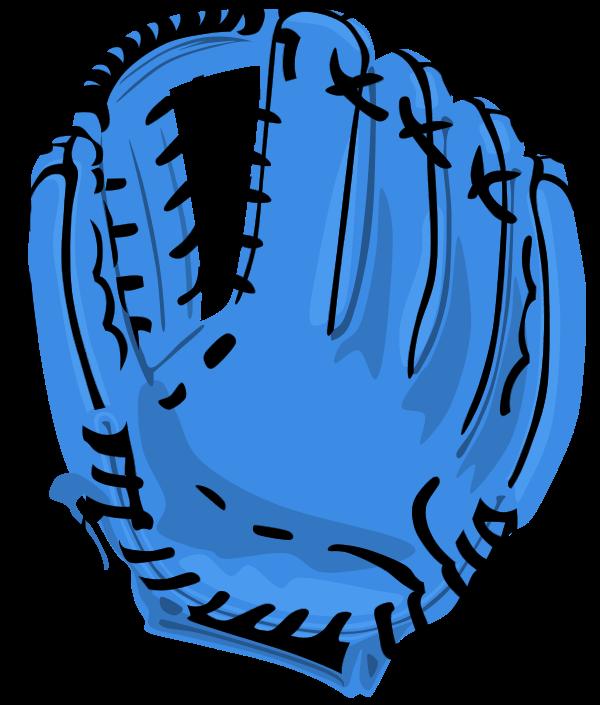 Glove clipart blue glove. Baseball mitt group vector