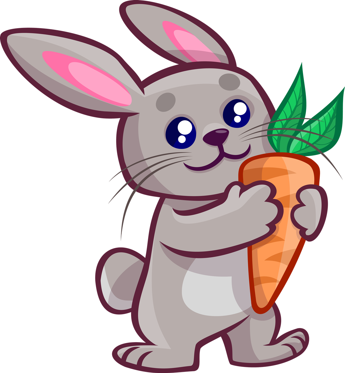 Free clipart rabbit. Imagination bunny cartoon pic