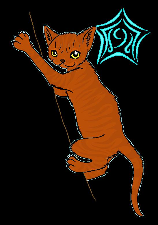 Cat at getdrawings com. Warrior clipart orange