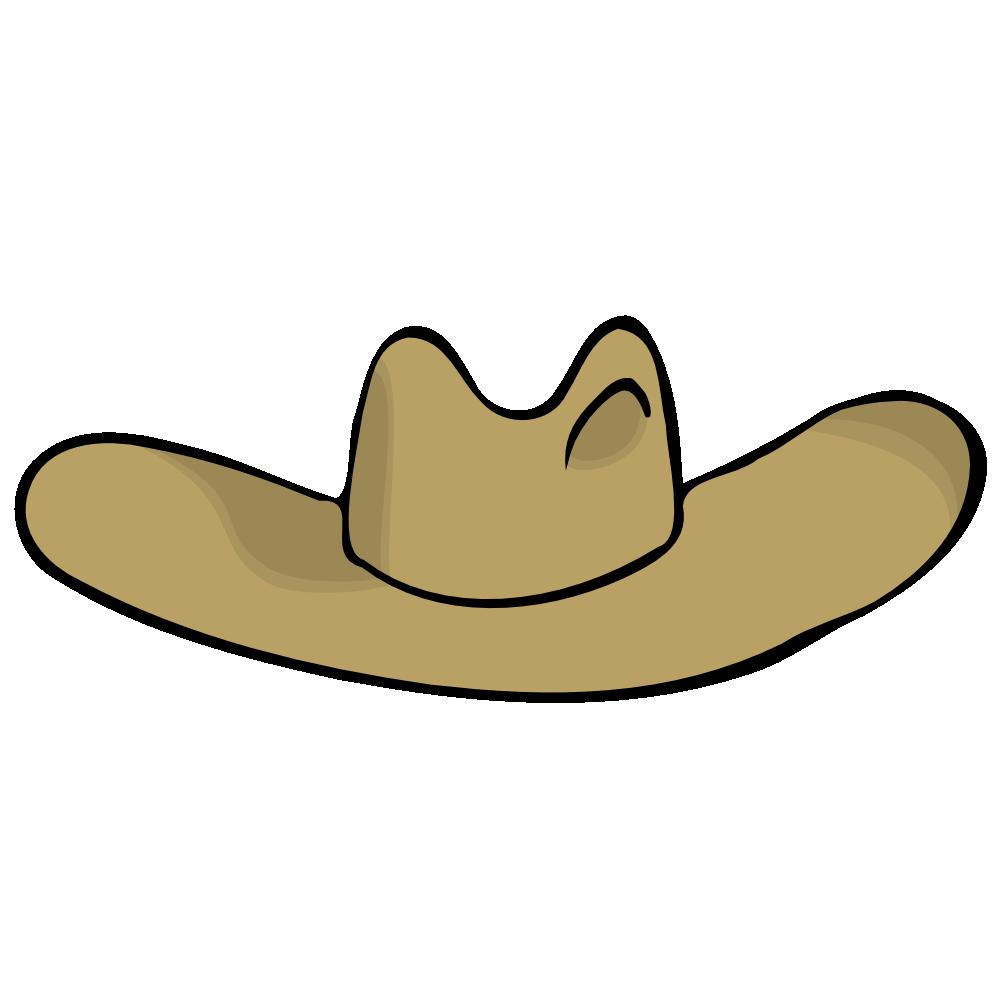 Hat clipart cow boy. Onlinelabels clip art cowboy