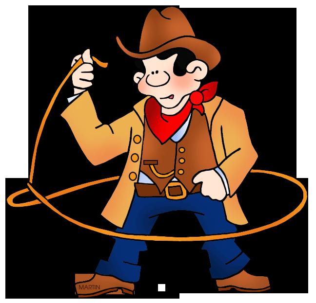 Vaquero with lasso clip. Cowboy clipart rodeo