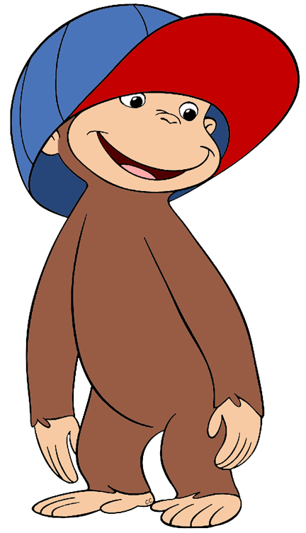 Study clipart general knowledge. Curious george clip art