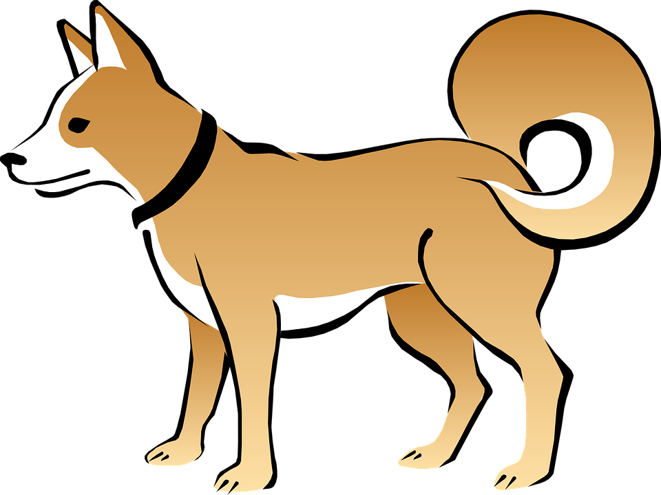 Clipart puppy ear. Tail pet pencil and