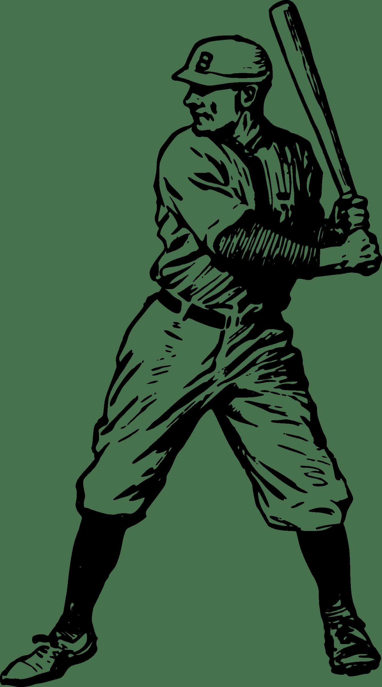 Batter at getdrawings com. Clipart baseball drawing