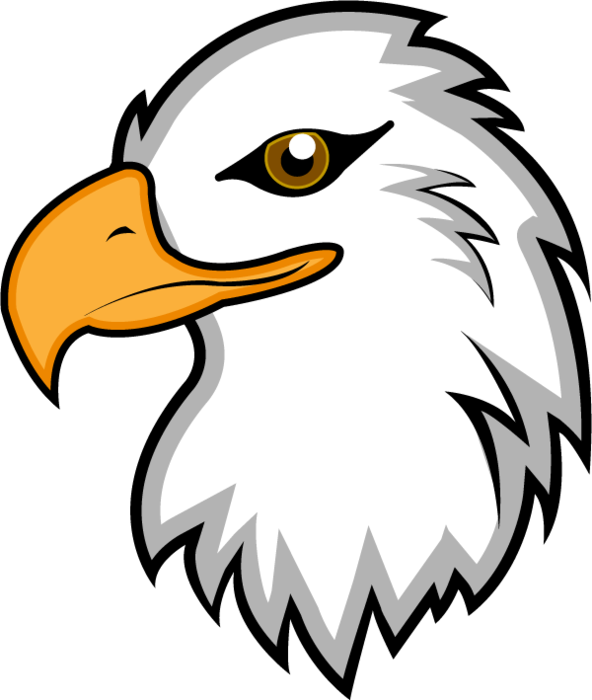 eagles golden huge. Eagle clipart hawk
