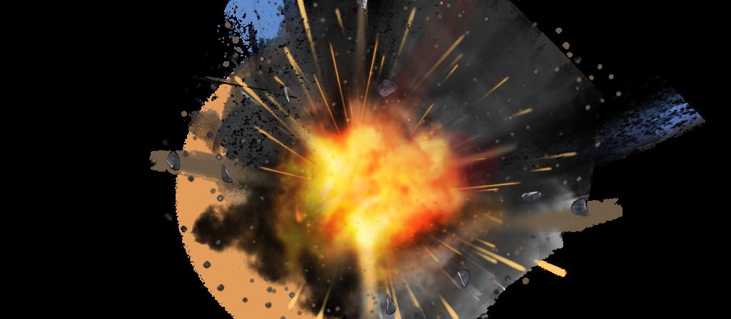 Clipart explosion gunshot. Atomic transparent background peoplepng
