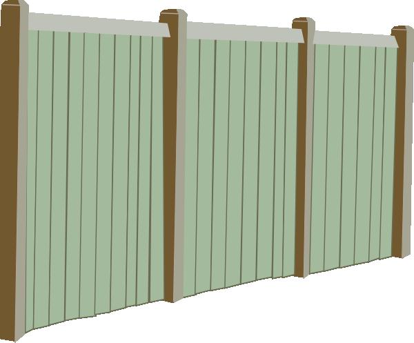 Fence clipart baseball. Wood clip art at