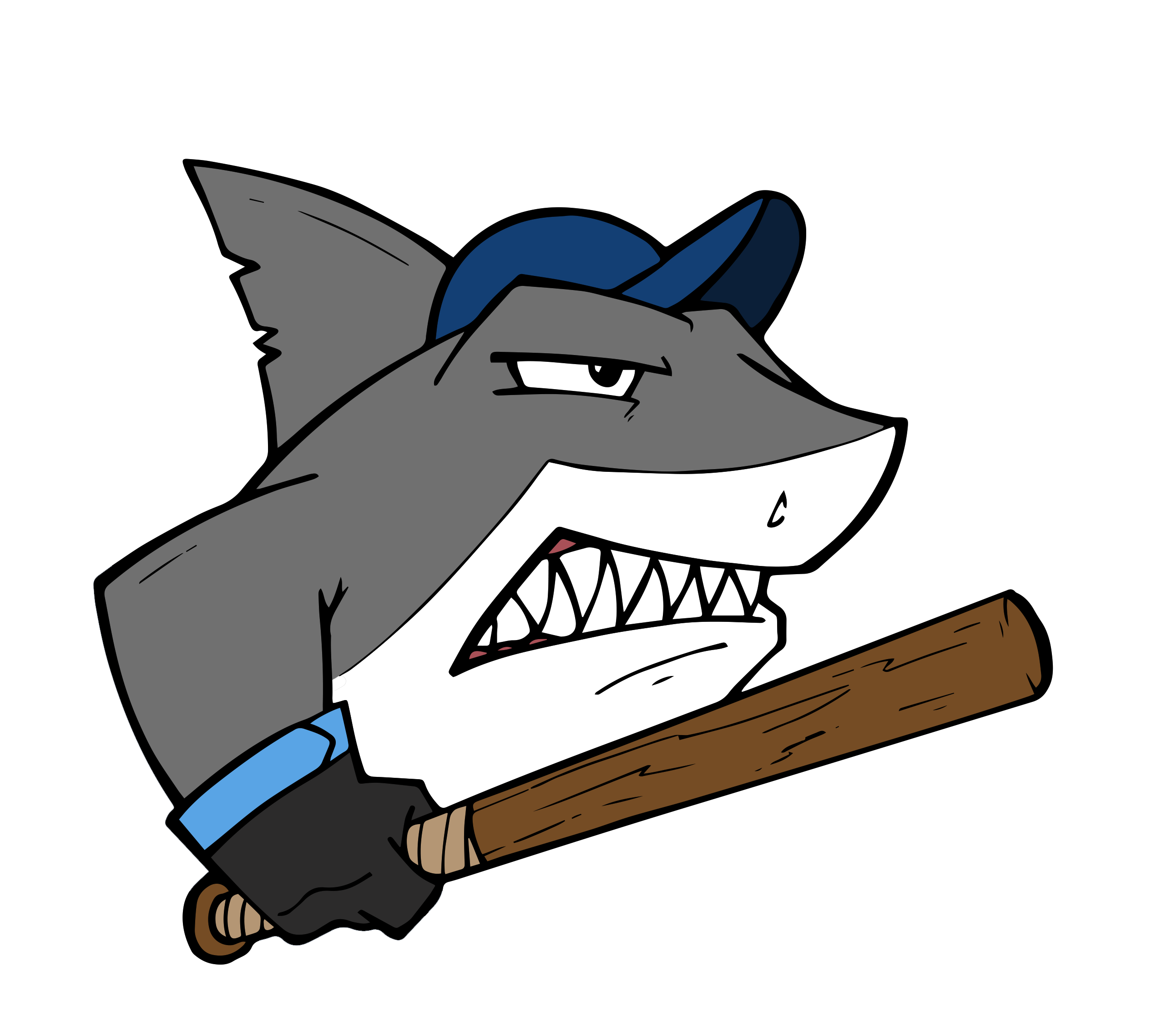Home sharks baseball. Trust clipart lack trust