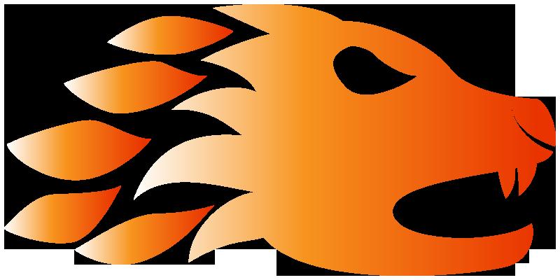 Lion by zerack rex. Thumb clipart fire