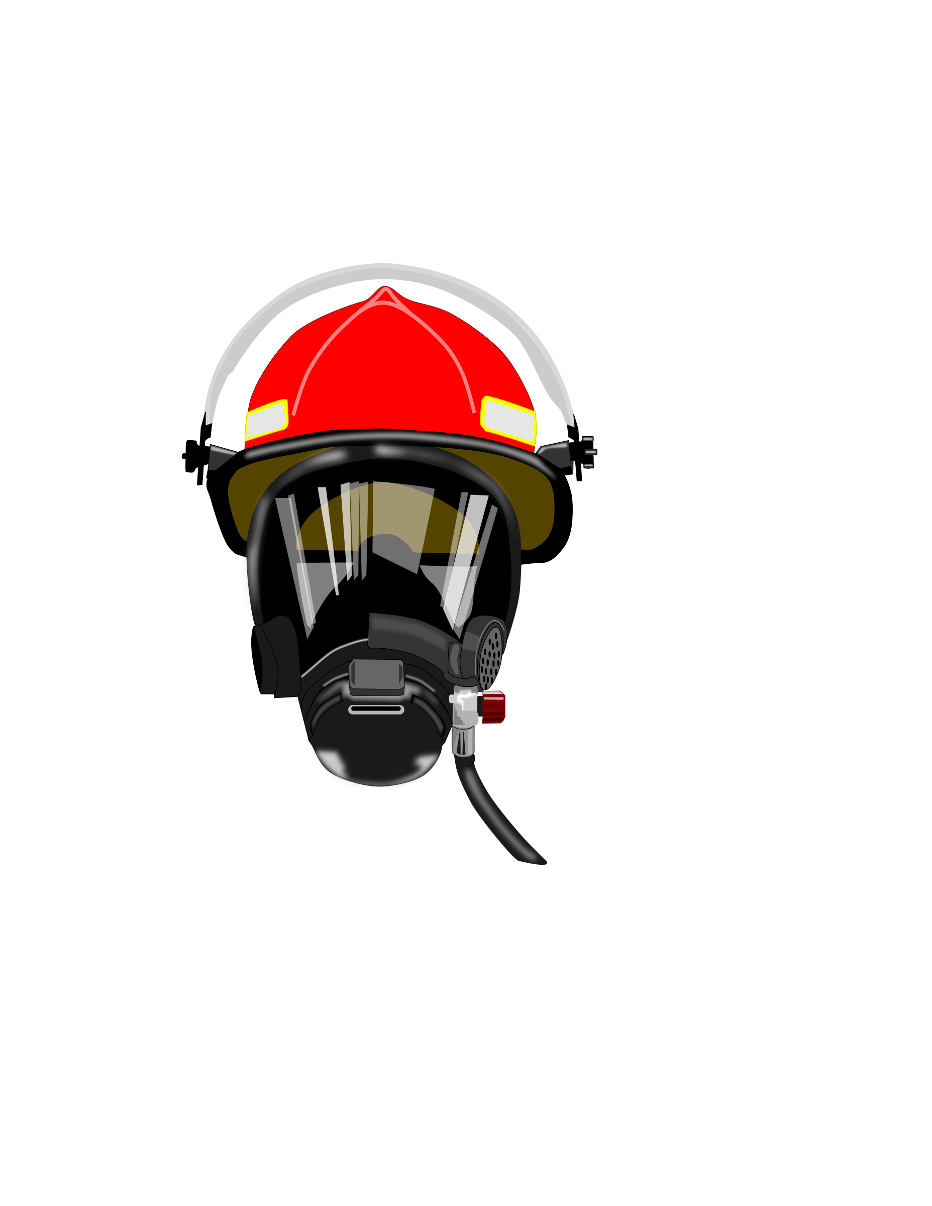 Helmet at getdrawings com. Clipart fire silhouette