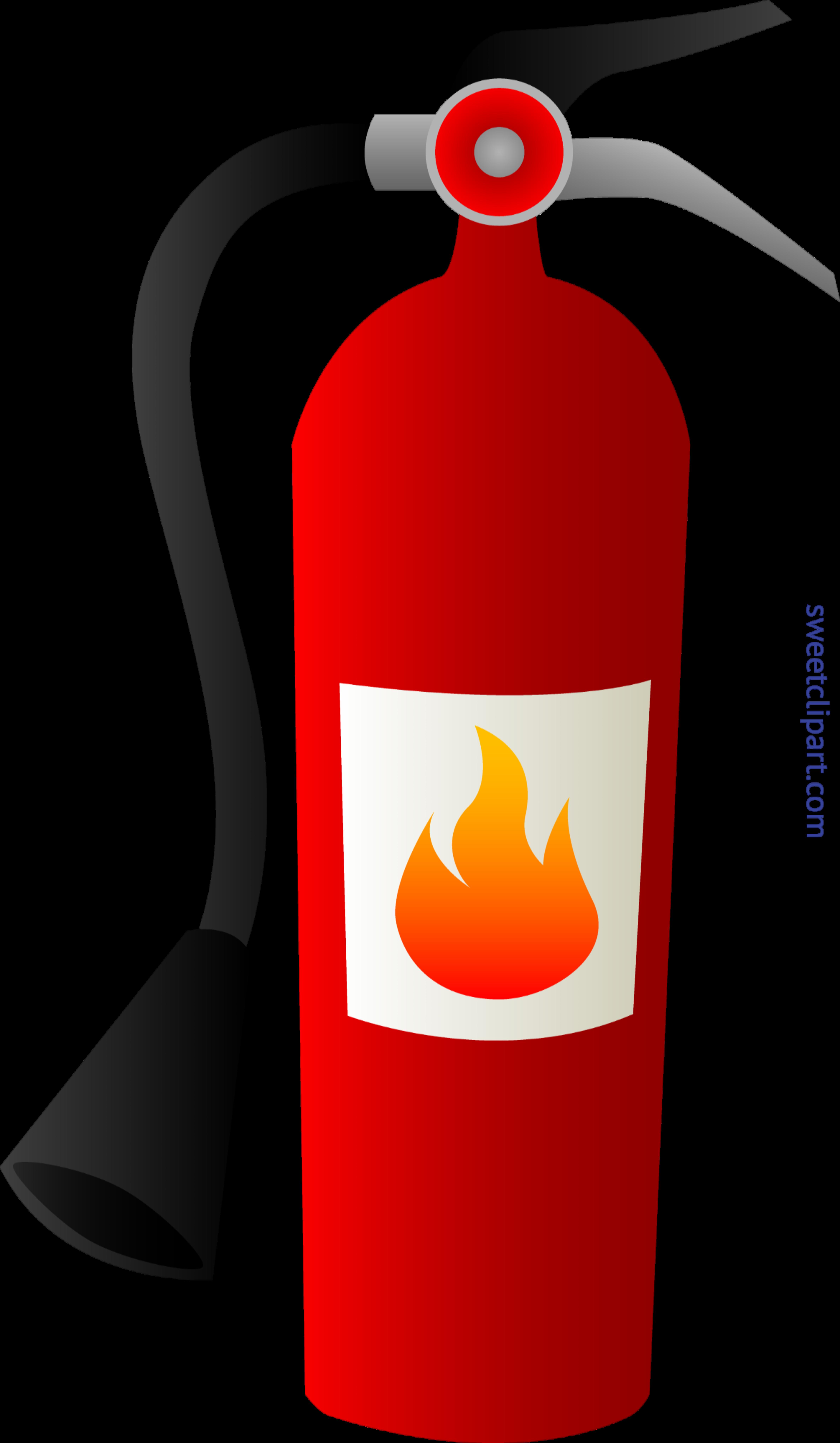 Fireplace clipart cute. Fire extinguisher clip art
