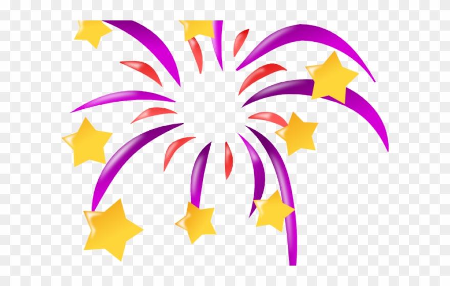 Clipart fireworks baseball. Firework new year icon