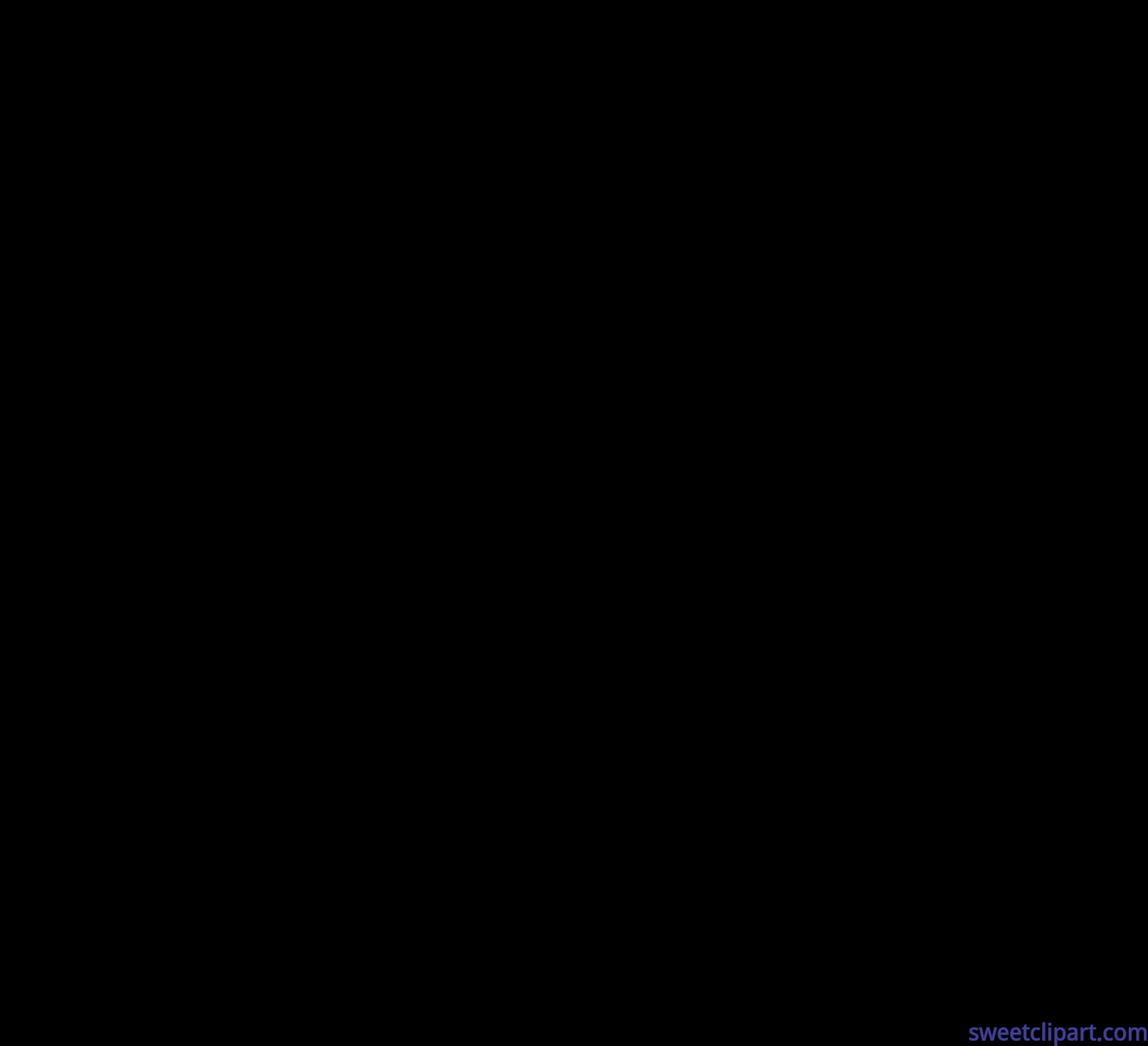 Fireworks Black Silhouette Clip Art