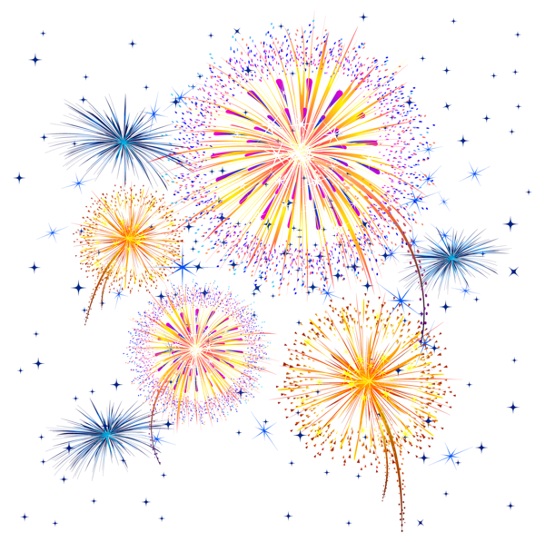 Image result for vector. Clipart fireworks white background
