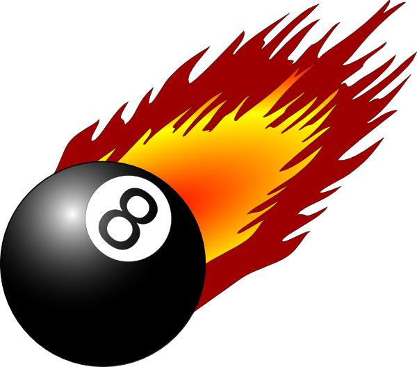 Clipart flames baseball. Soccer ball with panda