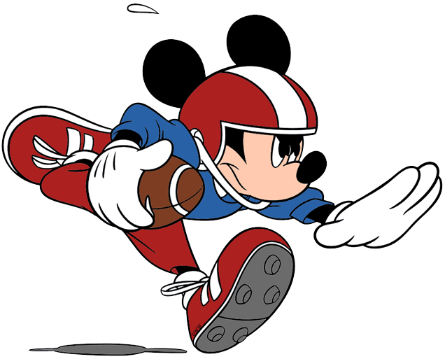 Disney clip art galore. Clipart football mickey