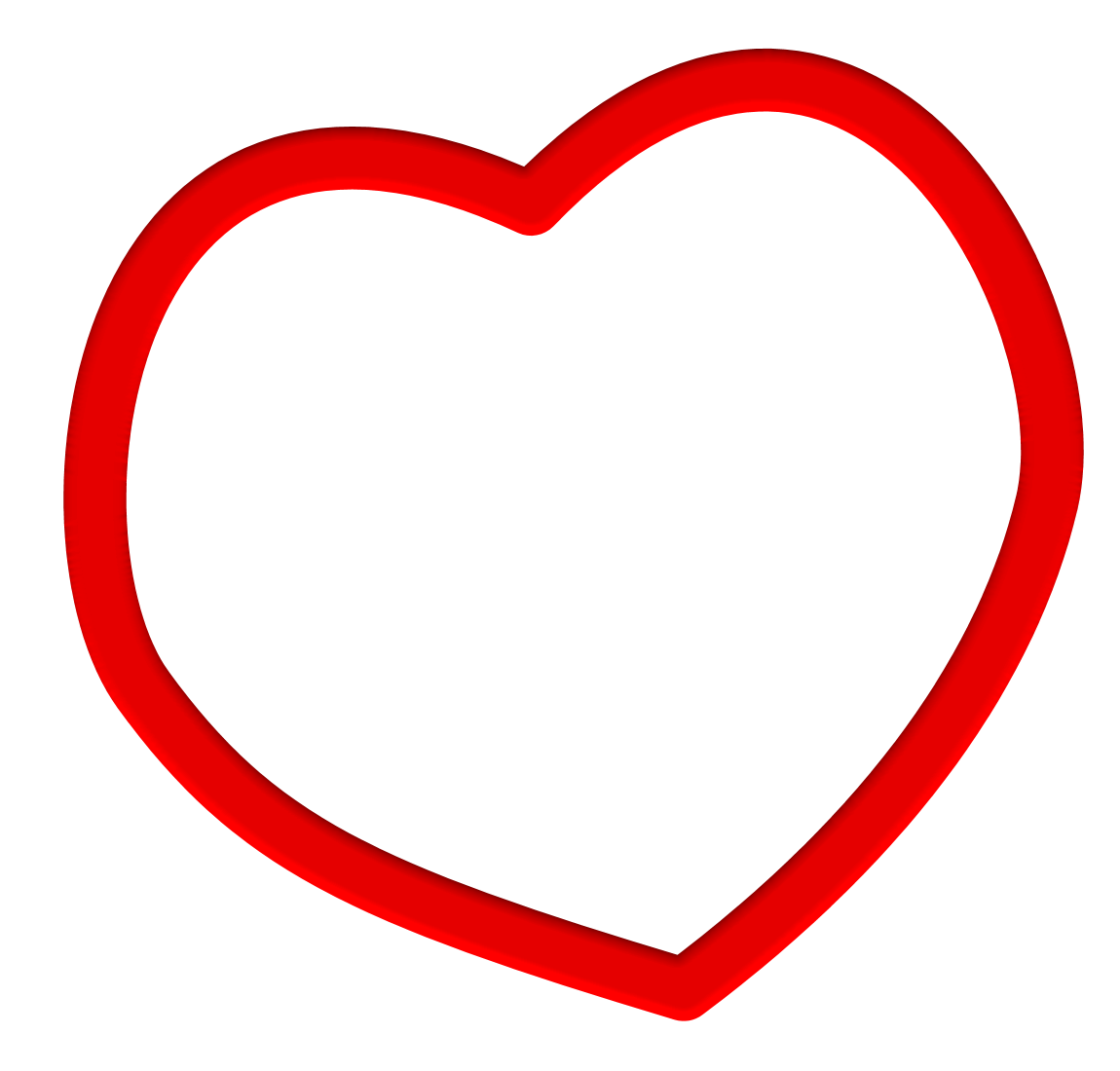 Heart clipart transparent background. Frame png pictures free