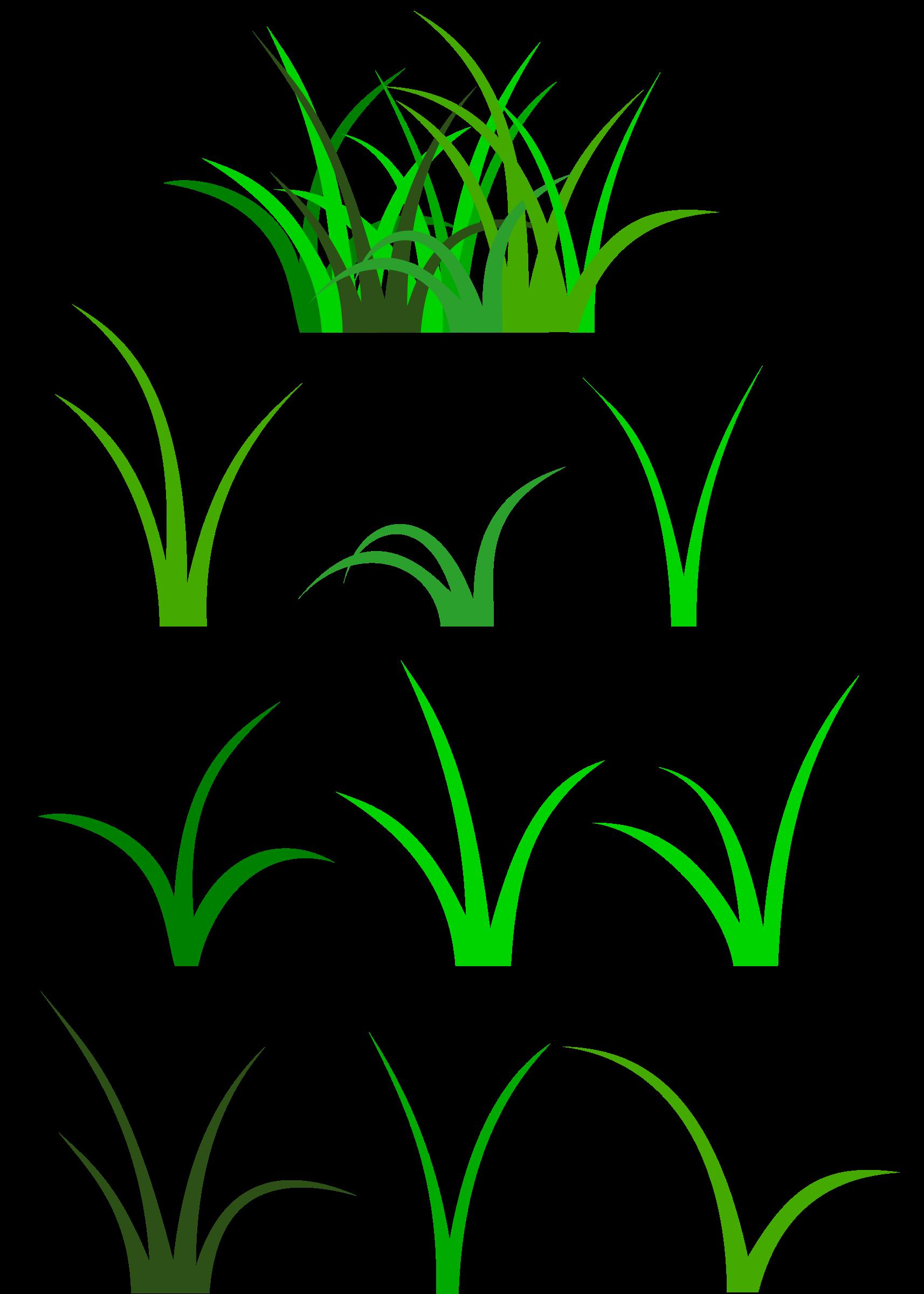 clipart grass head