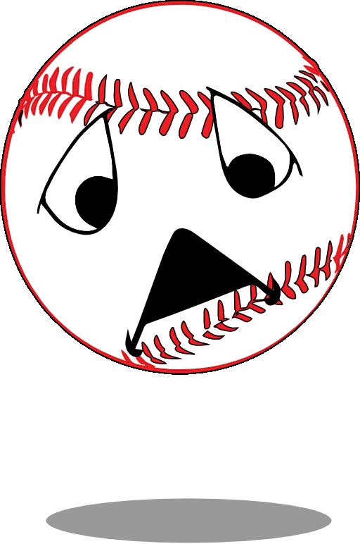 Sad i royalty free. Santa clipart baseball