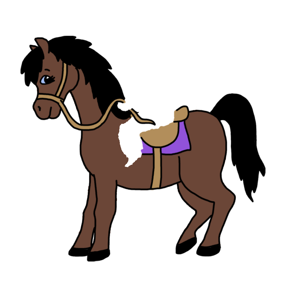 On horse personalized christmas. Girl clipart horseback riding