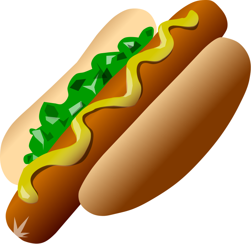 Clipart baseball hotdog. And hamburger panda free