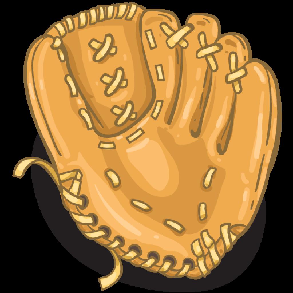 Glove clipart baseball bat. Item detail mitt itembrowser