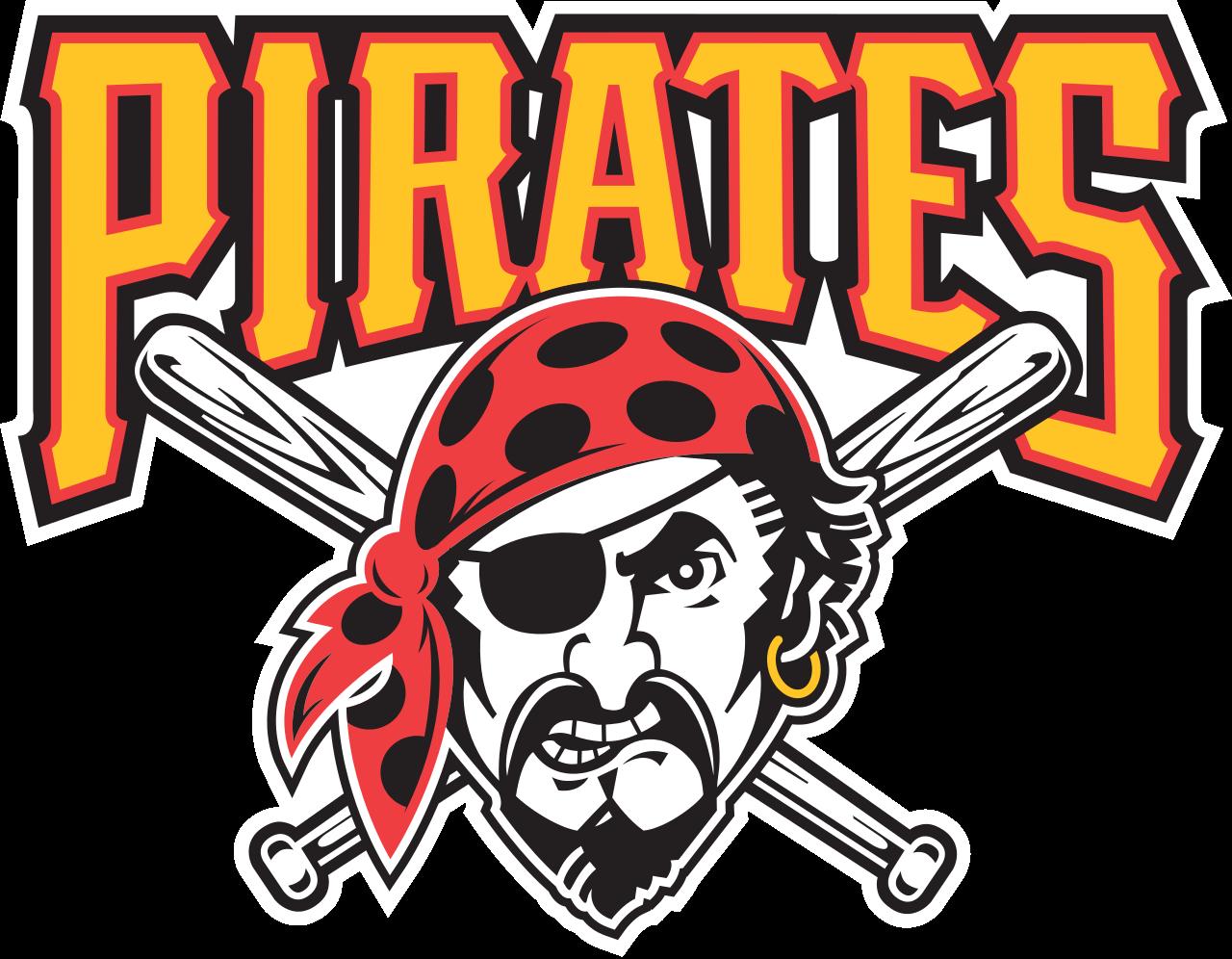 Words clipart band. Pirates baseball logos