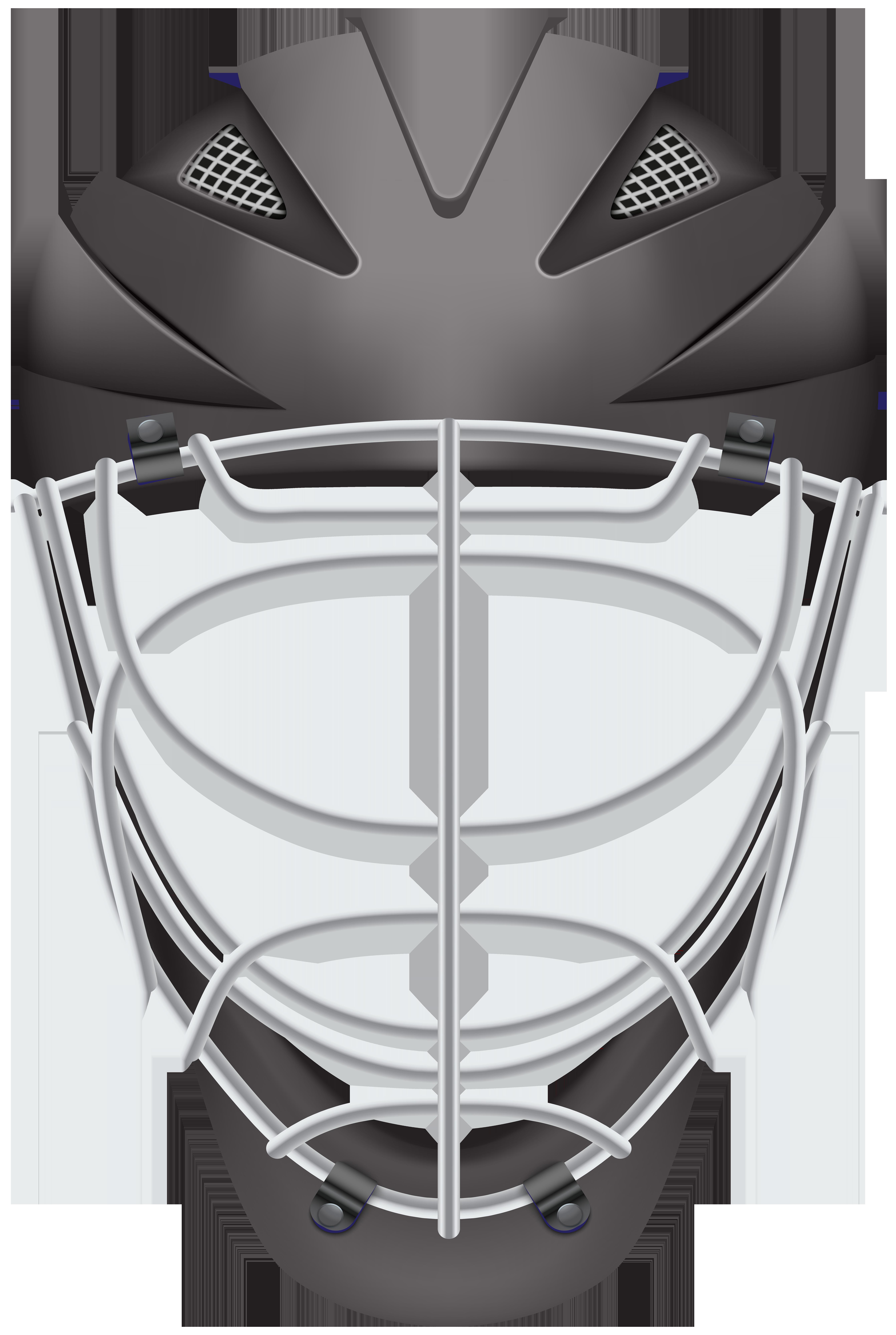 Lacrosse clipart clip art. Hockey helmet black png