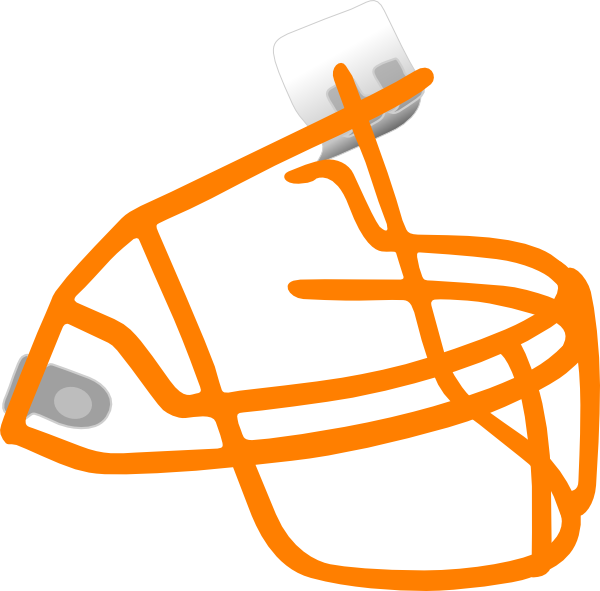 Clipart football face. Mask clip art at