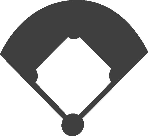 Clipart diamond logo. Baseball field clip art
