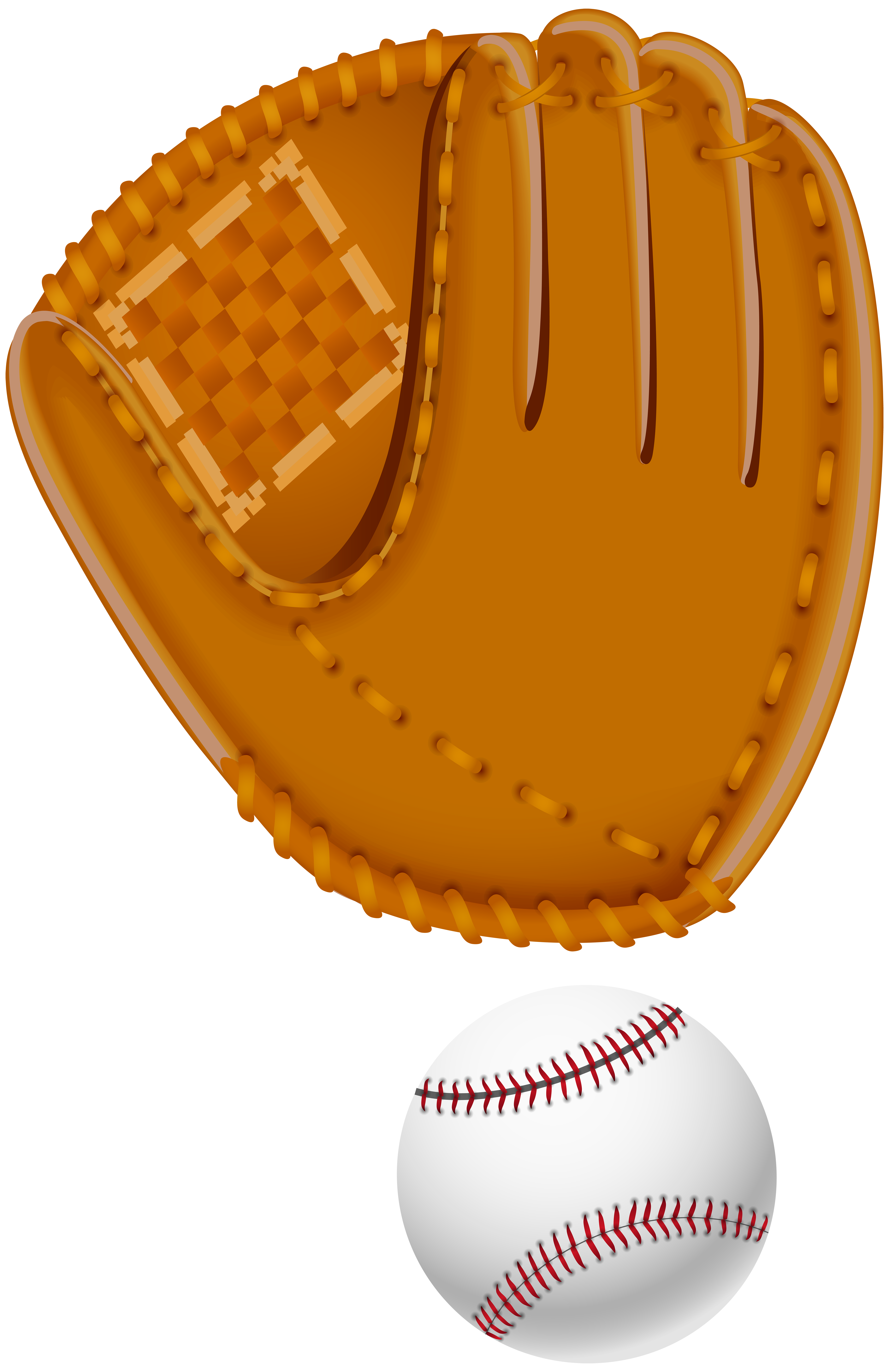 Glove clip art image. Numbers clipart baseball