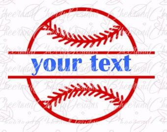 Clipart baseball monogram. Svg etsy