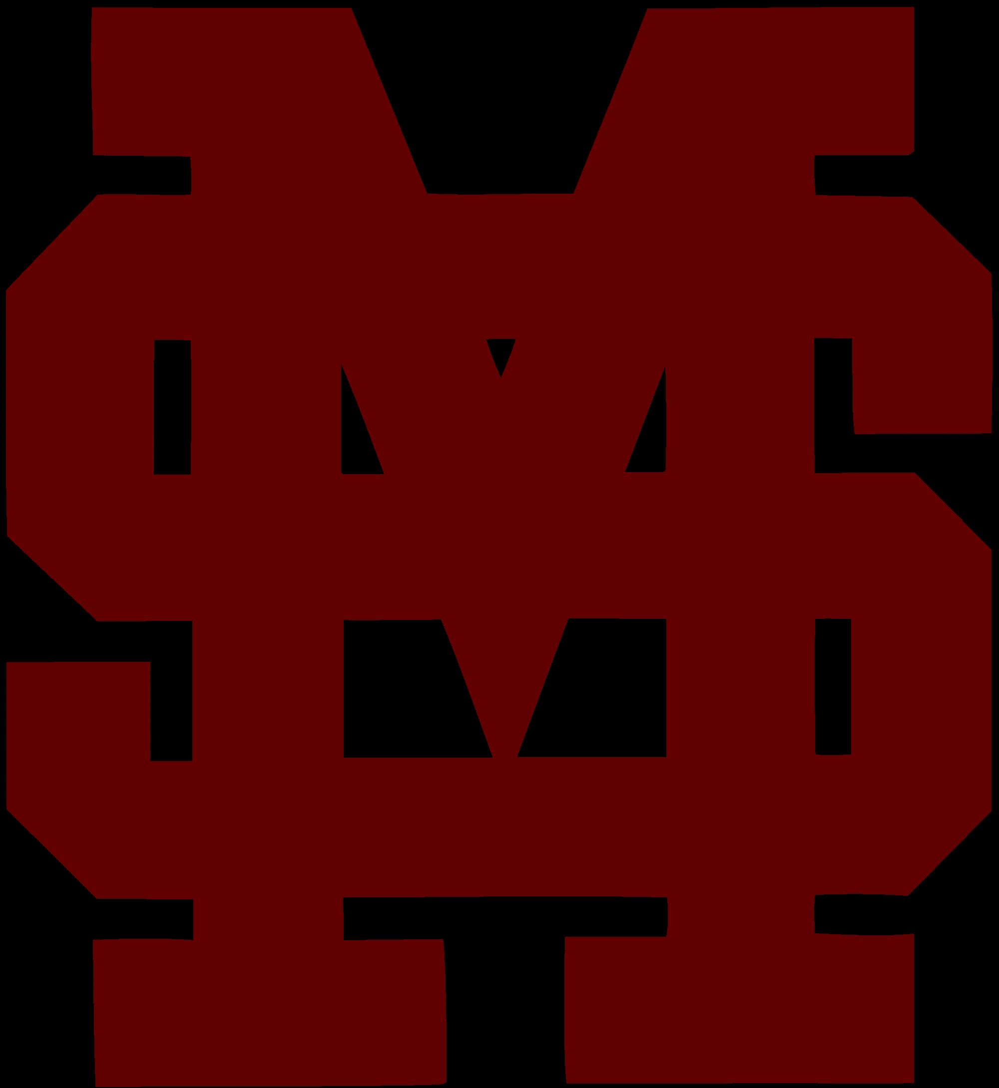 Clipart baseball monogram. File mississippi state bulldogs