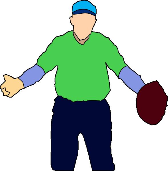 Baseball player clip art. Gloves clipart construction