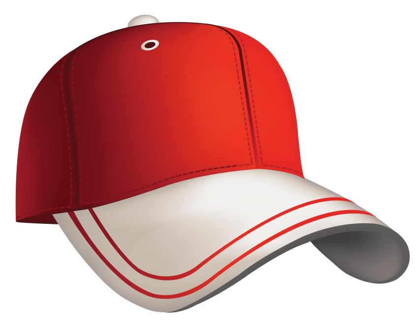 Food clipart baseball. Red cap png free