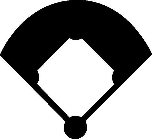 Baseball silhouette at getdrawings. Clipart diamond printable