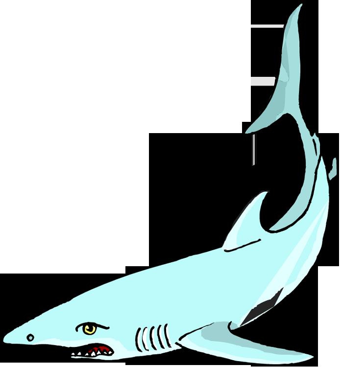 Free . Clipart shark underwater